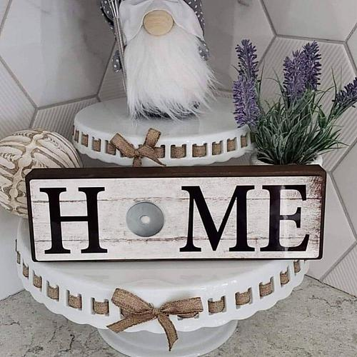 Sign Decor Welcome Signs Decorative Plaque Wooden Hanging Signs Sweet Home Family Door Sign for Home Garden Doorway Decoration