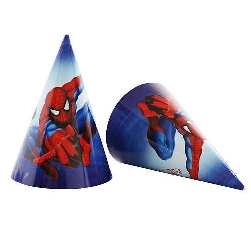 New Spiderman Design Boys Birthday Party Decorations Gift Bag Paper Cups Plates Spoon Baby Shower Disposable Tableware Supplies
