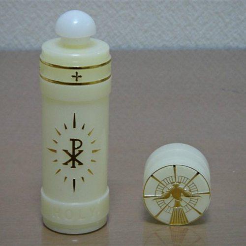 Christian Catholic holy water bottle exquisite small portable St. Aquarius ampullae 12*3cm ampulla craft gifts rite 2pcs/lot