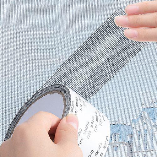 5*200CM Self-adhesive Screen Repair Patch Tape Window Door Screen For Home Anti Mosquito Fly Bug Net Mesh Broken Holes Repair