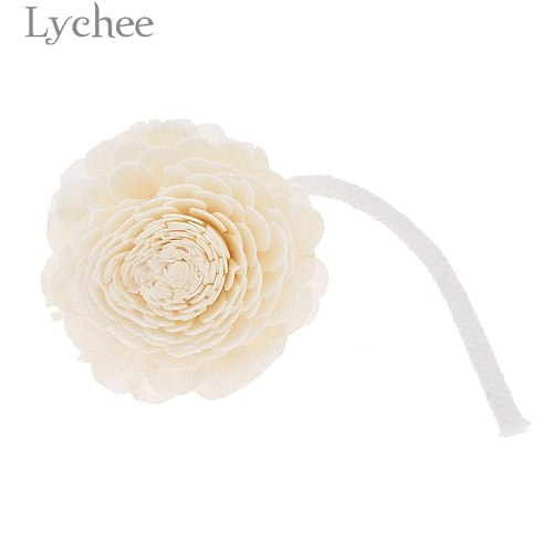 Lychee Life Natural Flower Wood Fragrance Diffuser Replacement Refill Sticks Incense Home Living Room Aromatic Incense