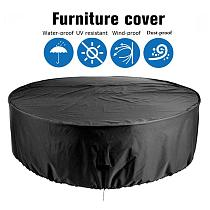Round Table Chair Set Outdoor Garden Furniture Cover Waterproof Oxford  Sofa Protection Patio Rain Snow Dustproof Covers