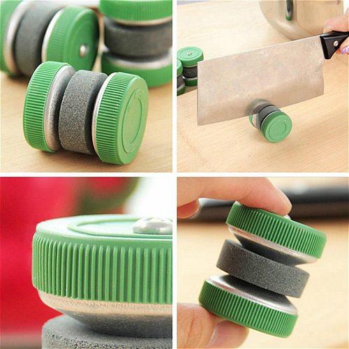 Home Sharp Tools Fast Grindstone Circular Wheel Knife Scissor Sharpener Grinder Color Random