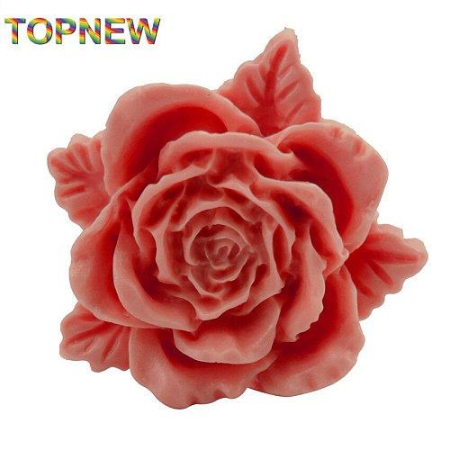 New 3D Styling Flower Silicone Mold Cookware Dining Bar Non-stick Cake Decorating Fondant Soap Mold 1970