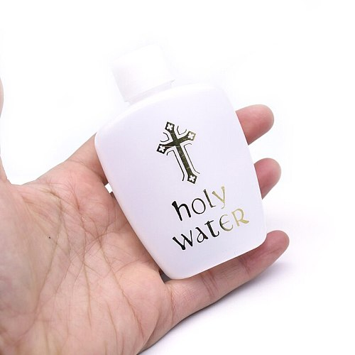 1PC 60ml Holy Water Bottle Sturdy Prime Church Holy Water Bottle 5.7*8.5cm