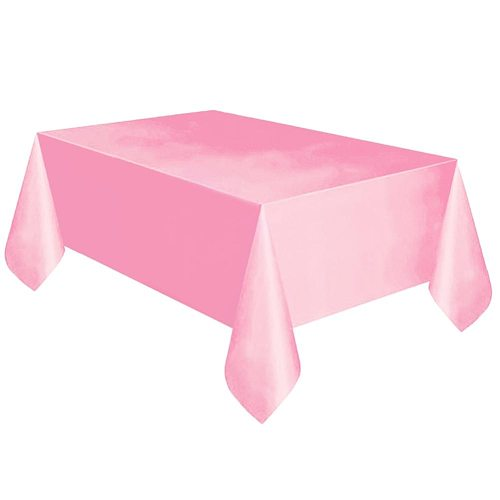 Solid Color Rectangle Dining Table Cover Cloth Birthday Party Tablecloth Decor Oil-proof Detachable Table Top Decoration