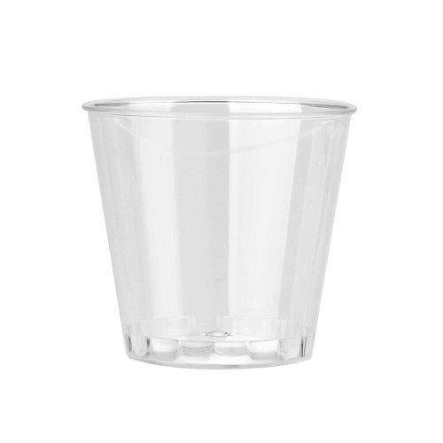 50PCS Mini Clear Plastic Disposable Party Shot Glasses Jelly Cups Tumblers Birthday Kitchen Accessories coisas de cozinha