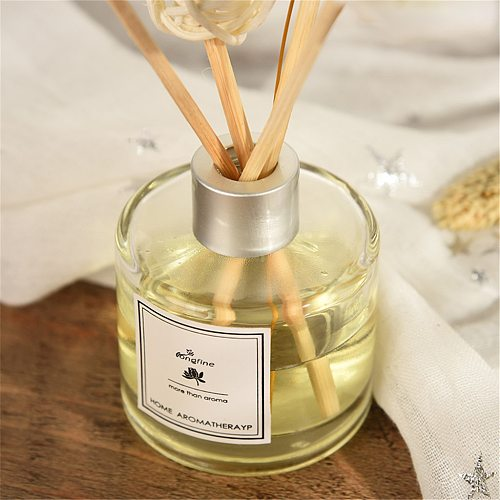 50ml Reed Diffuser Sets With Natural Sticks Glass Bottle And Scented Oil Perfume Set Home Fragrance Decoration Office
