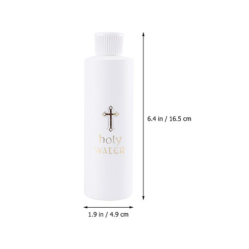 2pcs Holy Water Bottle Durable High Quality Sturdy Prime Church Holy Water Bottle Holy Water Bottle Exorcism Halidom For Travel