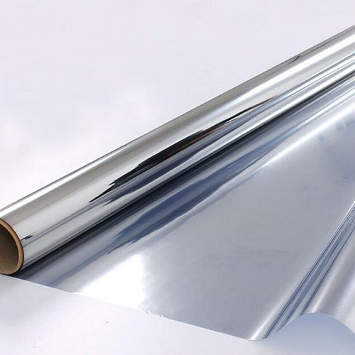 Silver Insulation Window Film Solar Reflective One way Mirror Drop-Shipping Glass Stickers For Home Office Decor Length 200cm