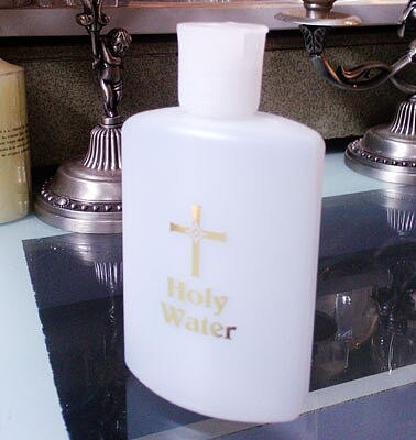 Original single foreign trade Catholic Christian portable holy water bottle  etiquette supplies Portable holy water bottle