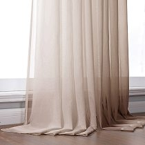 Elka Solid Tulle Sheer Window Curtains for Living room the Bedroom Modern Tulle Curtains Fabric for Kitchen Voile Drapes