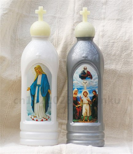 Plastic Catholic Holy Things Home Use of Holy Water Bottles Christ Ampulla Etiquette Supplies