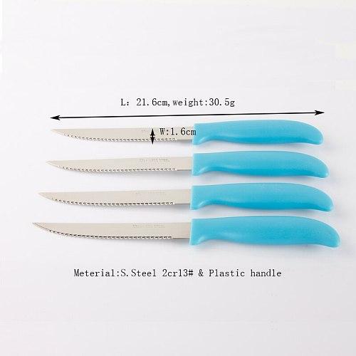 6 Pieces Steak Knife Knives Set Dinner Knifes Flatware Restaurant Home Bar Tableware set Dinner Knife Cutlery Flatware Sets