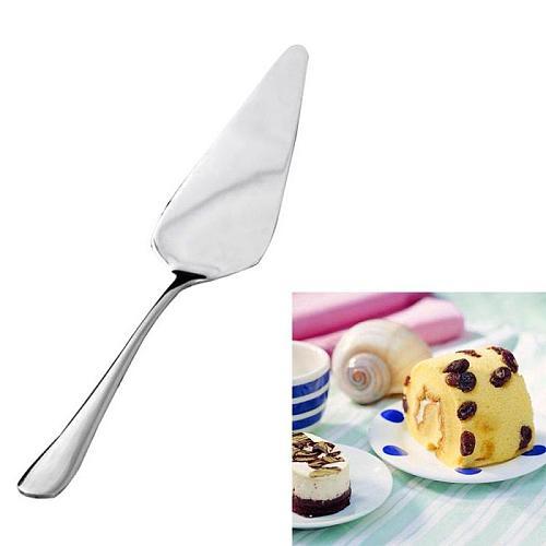 Stainless Steel Pizza Shovel Golden Silver Cake Butter Cheese Ice Cream Dessert Cutter Food Helper Turner Divider Pastry Kitchen