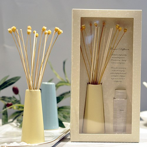 2020 New Reed Oil Diffusers with Natural Sticks, Glass Bottle and Scented Oil 30 ML Living Room Bedroom Home Decor Drop Shipping