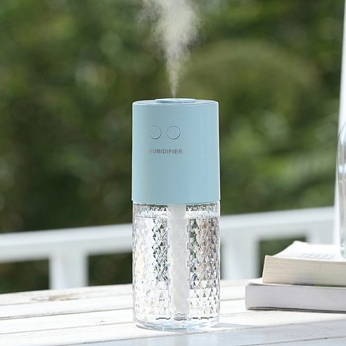 200ml Air Humidifier USB Portbale Humidifier Wireless Diffuser Rechargeable Air Purifiers Essential Oil Cleaner Home