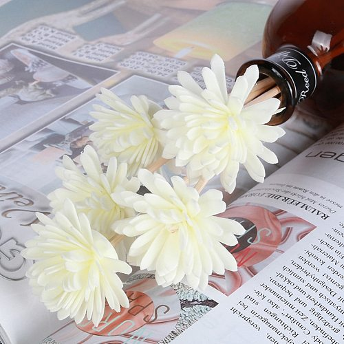 Artificial Flower Wavy Rattan Reed Fragrance Diffuser Replacement Refill Sticks Air Freshener Perfume Diffuser Sticks