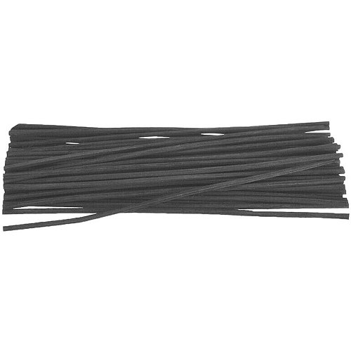 100pcs Black Rattan Reed Sticks Home Refill Replacement Fragrance Oil Diffuser Accessories Home Decoration