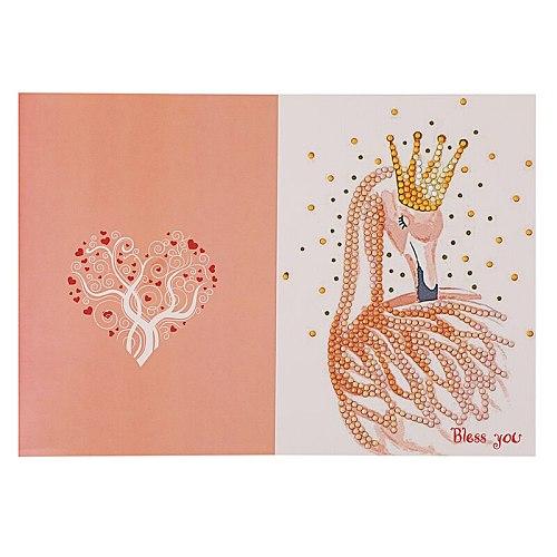 5D Diamond Painting DIY Christmas Cards Diamond Embroidery  flower Greeting Postcards Diamond Mosaic Handmade Christmas  Gift