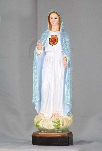 Special Offer 40CM tall # HOME Church TOP Ornament Religious Catholicism Christianism Fatima Virgin Mary Madonna holy statue