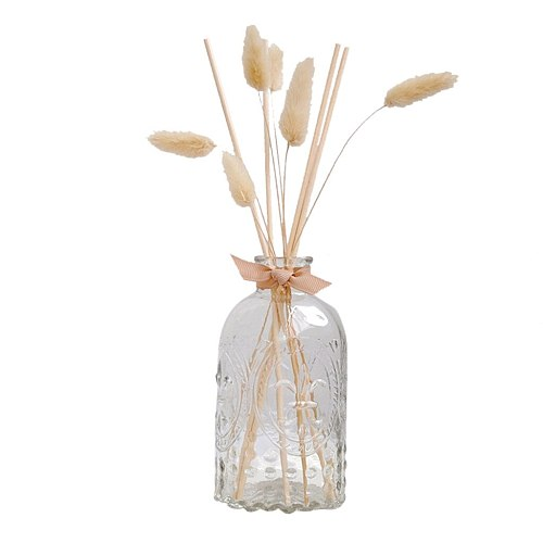 30ml Glass Bottles Reed Diffuser Sticks Air Fresher Essential Oil Flameless Aromatherapy Home Fragrance Perfume Set Home Perfume