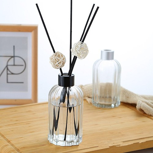 5PCS/Set 200ml Home Fragrance Essentia Oil Empty Bottle Air Freshener Decorative Glass Bottle Scented Reed Diffuser for Home Dec