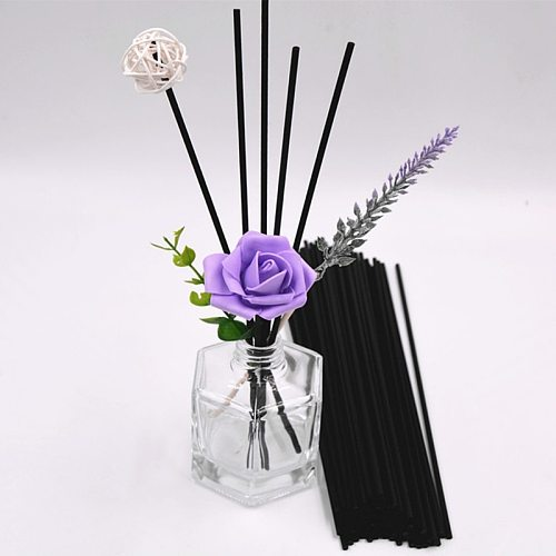 100Pcs  Perfume Volatiles For Home Decoration Natural Reed Fragrance Aroma Oil Diffuser Rattan Sticks