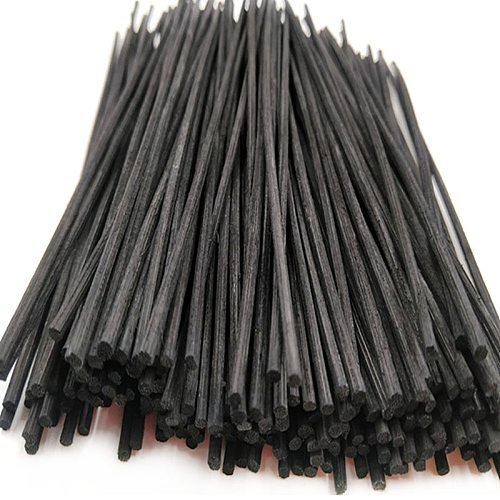 Natural Black Rattan Reed Essential Oil Replacement Diffuser Refill Sticks Pack