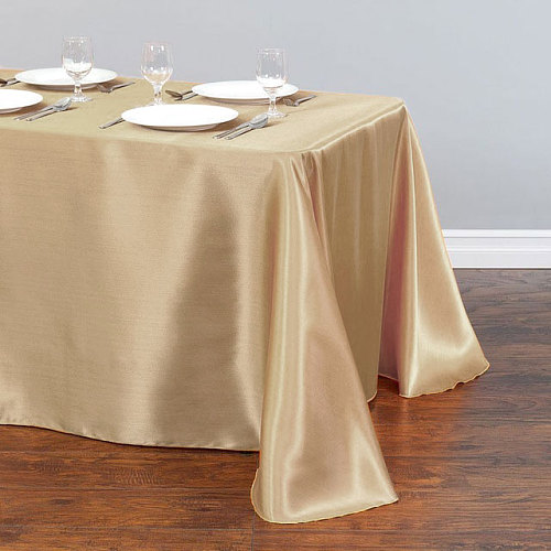 1pcs White Wedding Tablecloth Table Cover Rectangle for Christmas New Year Party Home Textile 228x339cm Stain Fabric