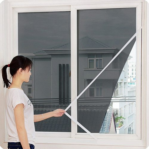 2021 New Indoor Insect Fly Screen Curtain Mesh Bug Mosquito Netting Door Window Anti Mosquito Net For Kitchen Window household