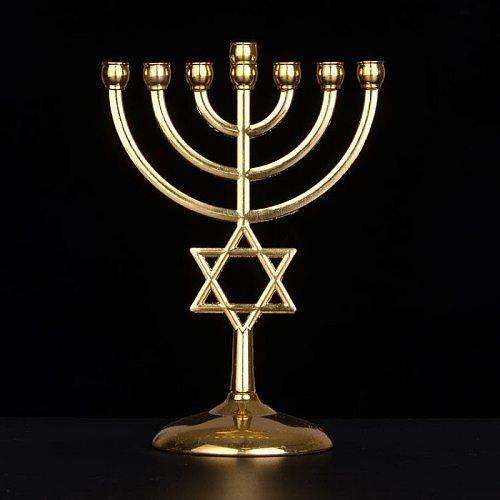 Golden Lampstands