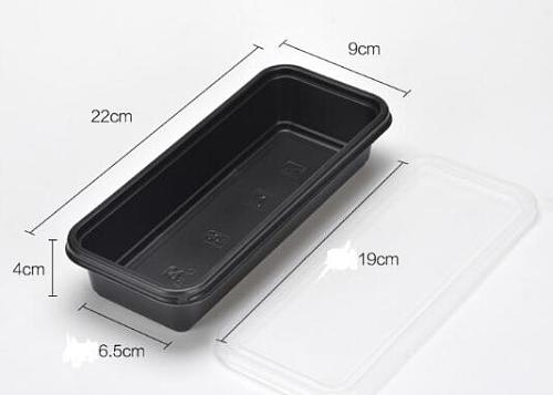 Disposable Microwave Plastic Food Storage Container Safe Meal Prep Containers For Home Kitchen Food Storage Box