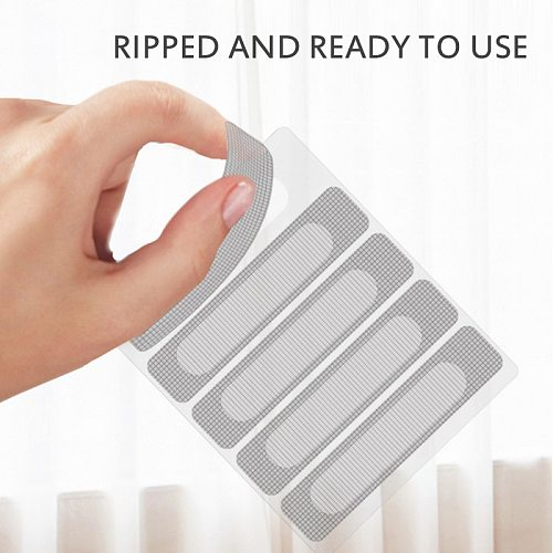 5pcs Repair Tape Anti-insect Fly Bug Door Window Mosquito Screen Net Patch Adhesive Window Repair Accessories Window Screens