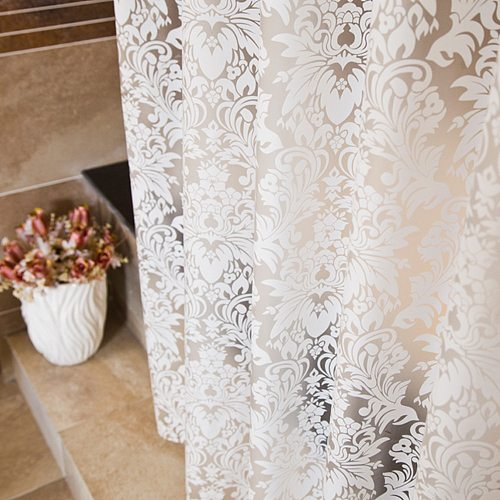 2020 Fashion Morocco Waterproof Shower Curtain Home Shower Curtain Shower Curtain Bathing Bathroom Hook Floral Europe Curtain