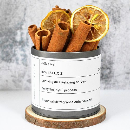 Reed Diffuser Sets Cinnamon Non Fire Aromatic Material Making DIY Aromatherapy Candle Accessories Home Decoration Birthday Gift