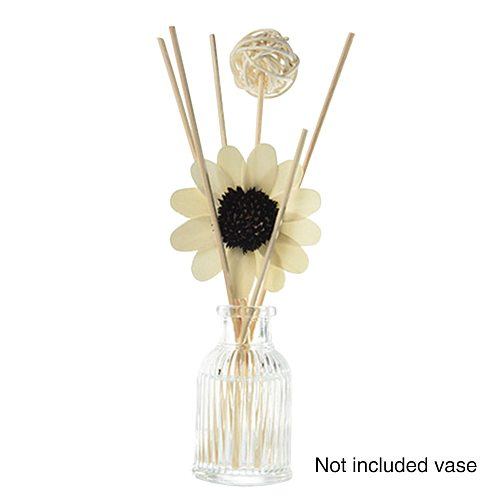 Sun Flower Hotel Aromatherapy Stick Office Fragrance Home Gift Bathroom Rattan Ball Deodorant Spa Reed Diffuser Set Decoration