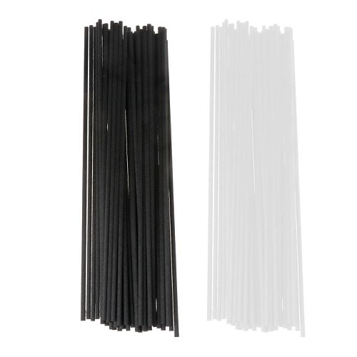 20 pcs 3X220mm Volatile Fiber Stick Diffuser Rods Aromatherapy for Home Fragrance Diffuser Home Decoration.