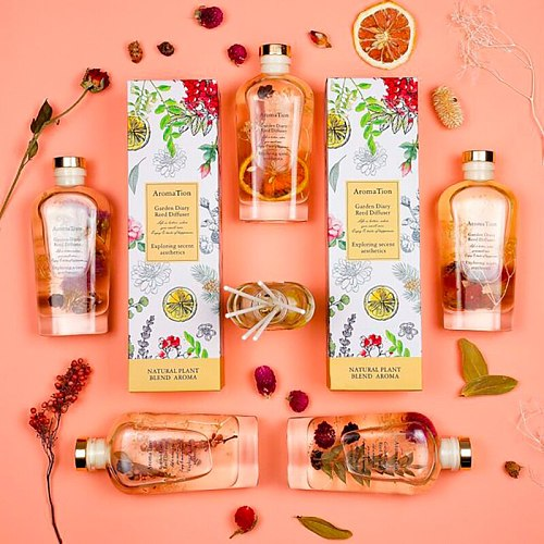 170ml Reed Diffuser Sets Eternal Flower Bedroom Air Freshener Long-lasting Fragrance European-style For Home Decoration