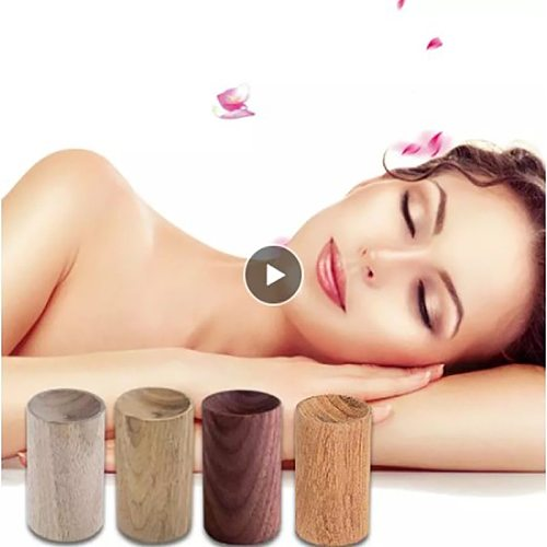 Essential Oil Diffused Wood Small Wood Air Freshener Aromatherapy Diffuser Home Decor Health Sleep Aid Reed Diffuser Set Parts