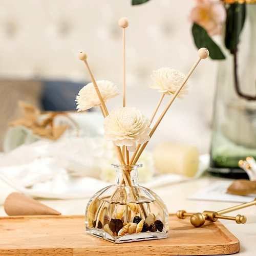 10pcs Reed Diffuser Replacement Stick DIY Handmade Home Decor Extra Thick Rattan Reed Oil Diffuser Refill Sticks