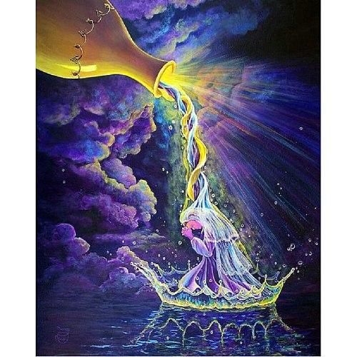 DIY Diamond Painting Cartoon fairy Full drilling Diamond Embroidery Cross Stitch Holy water bottle fairy Home Decoration