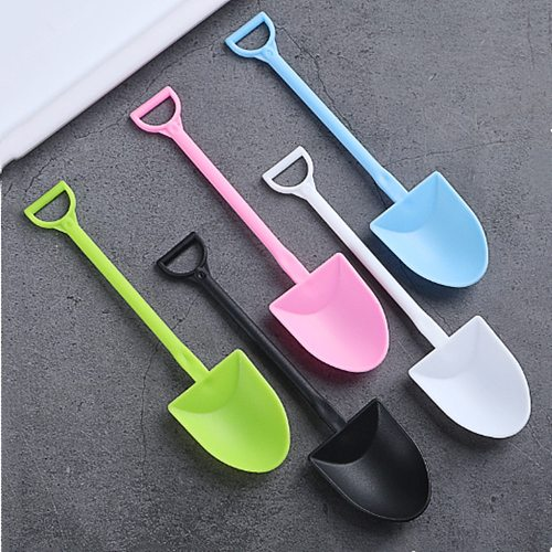 100pcs/set Portable Disposable Dessert Shop Pudding Spoon Party Shovel Tableware Spoons Cream Cake Food Grade