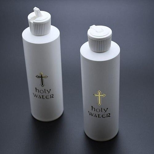 Holy Water Bottles Portable Catholic Bottle Gift Room Decoration Desktop Decor