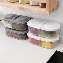 Kitchen Transparent PP Storage Box Grains Beans Storage Contain Sealed Home Organizer Food Container Refrigerator Storage Boxes