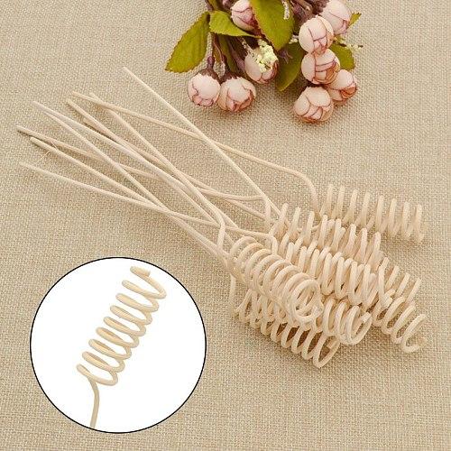 Rattan Reed Diffuser Refill Stick Fragrant Essential Oil Decorative Flower Beige