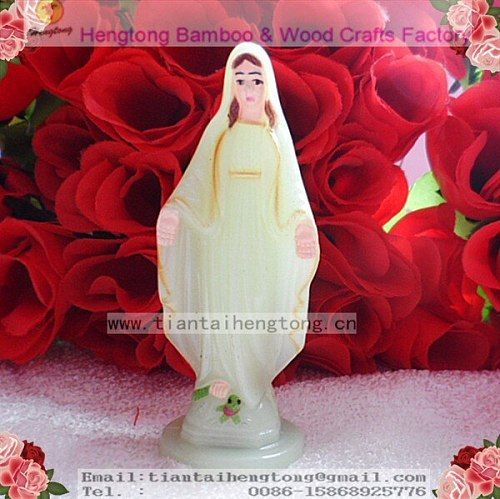 free shipping 2pc/pack plastic religious holy mary statue, saint statue, catholic statue,virgin mary statue,plastic craft