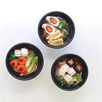80mm fridge magnet bowl food simulation mini kids like decoration magnetic stciker resin funny delicate gift kids like paste