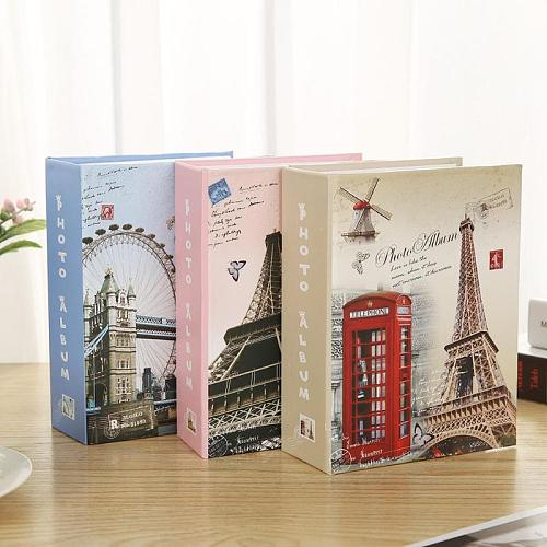 100 Sheets Pictures Photo Album Scrapbook Wedding Kids Memory Book Gifts Random Color Children Birthday Memory Card Book Gifts