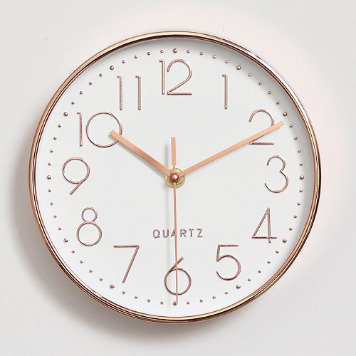 8/10/12/ inch Quartz Wall Clock Plastic Antique Designer Watches Home Decor Living Room Bedroom Silent Wall Clocks Modern Design